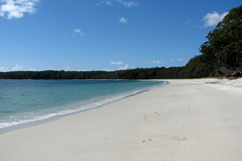 シドニーから車で3時間!世界一白い砂浜のある「ジャービス・ベイ」がすっごい綺麗!