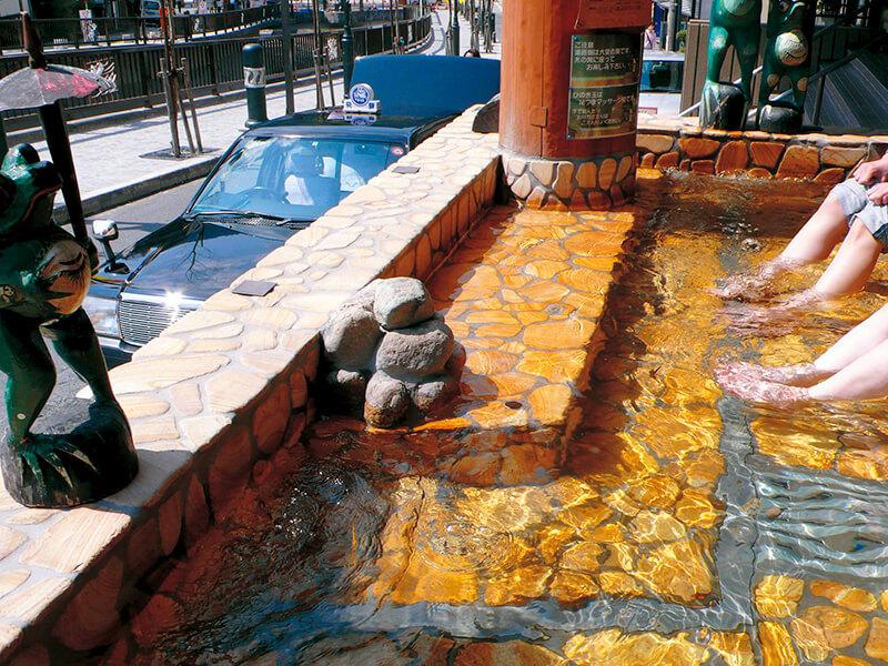下呂温泉 雅の足湯