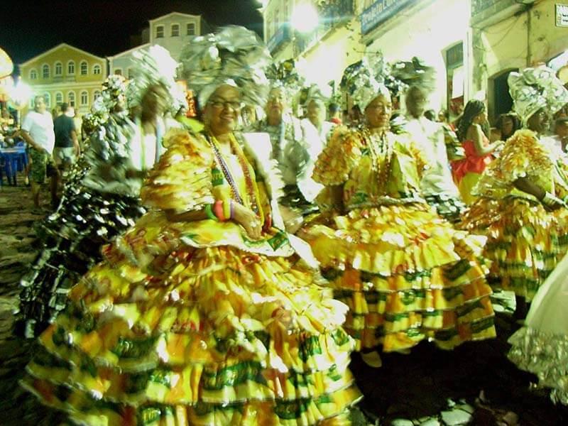 リオのサンバカーニバル
