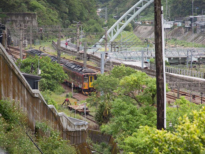 台湾の列車