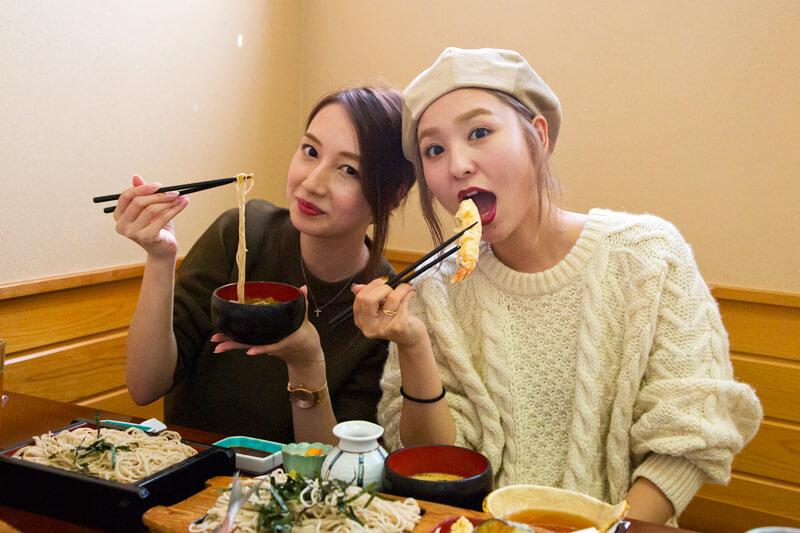 海老の天ぷら美味しい!