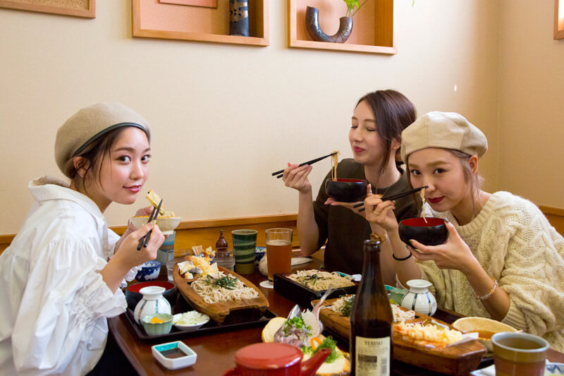 小田原・箱根の日帰り女子旅。ランチは箱根名物の絶品蕎麦を満喫!