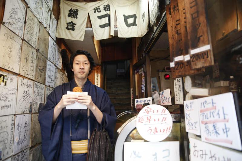 鎌倉の小町通りを着物レンタルしてぶらり散歩。インスタ映えもバッチリ!