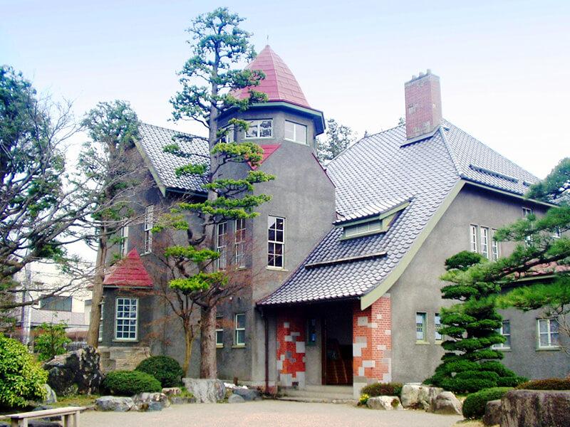 藤田記念公園の洋館