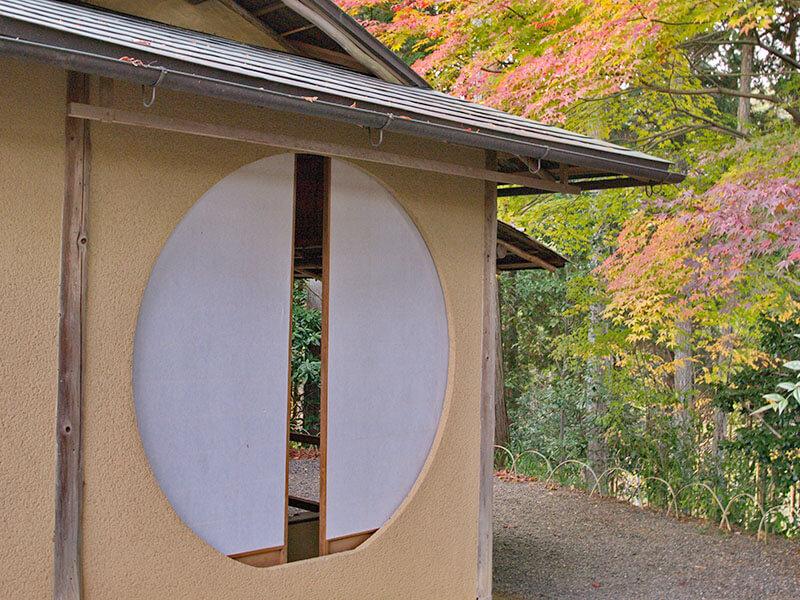 常照寺の吉野窓