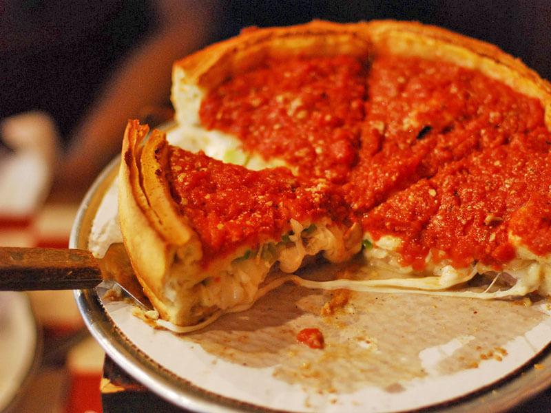 シカゴのピザ