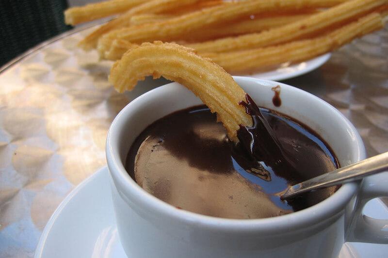 チョコラータ チュロス