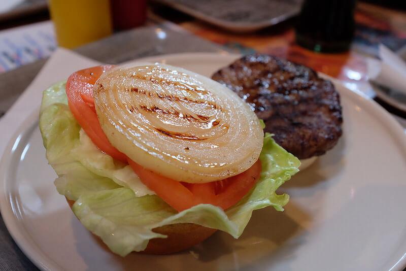 ジョンソンタウンのハンバーガー