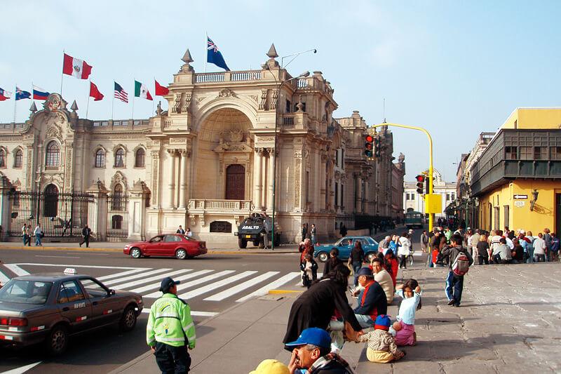 ペルー_リマ歴史地区