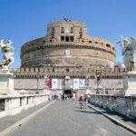 映画『ローマの休日』のロケ地♪サンタンジェロ城