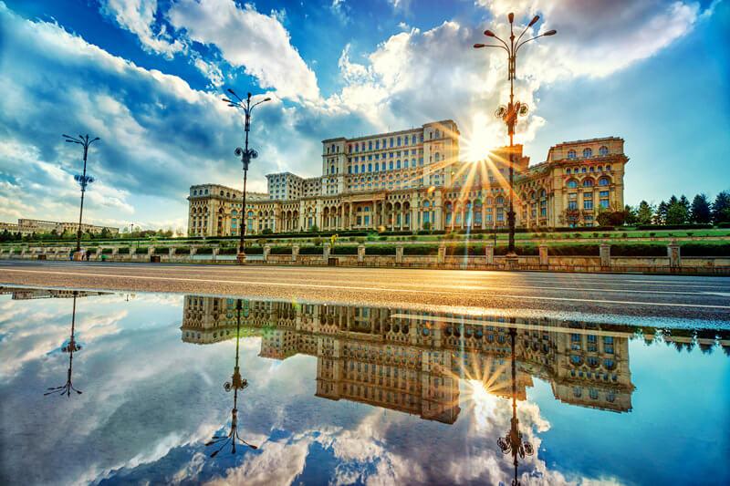 ルーマニア_ブカレスト国民の館