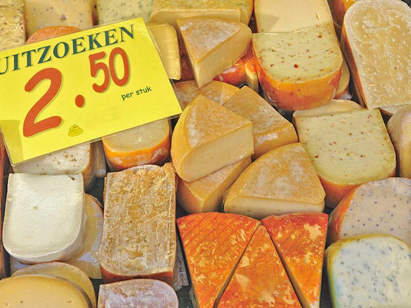 オランダの多種多様なチーズ