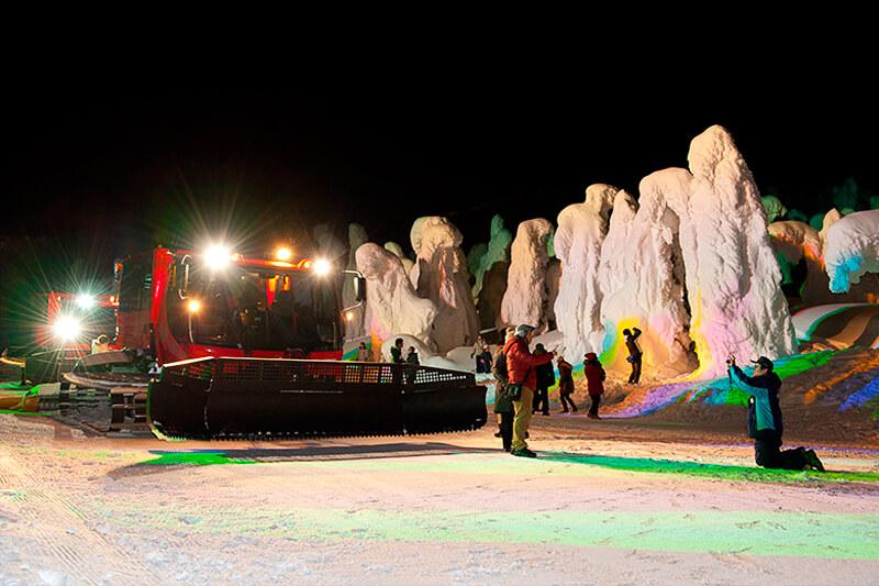 樹氷幻想回廊ツアー