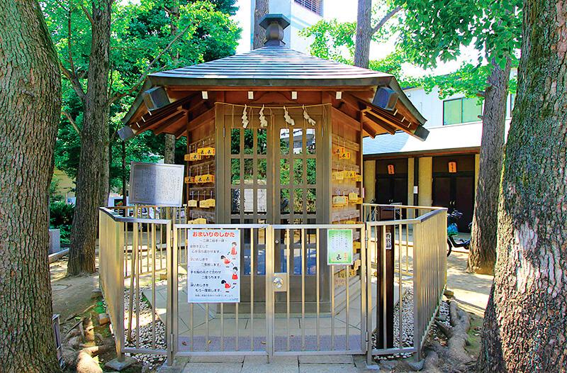 鳩森八幡神社の将棋堂