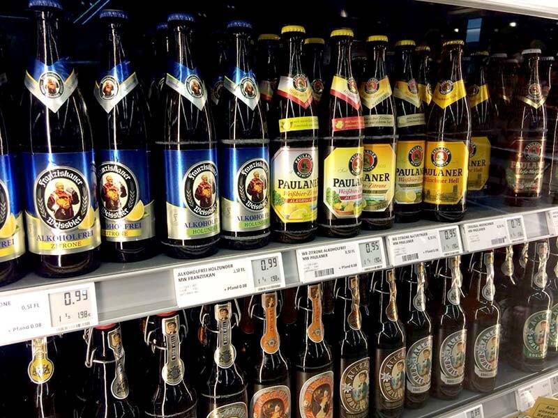 たくさん種類があるビール