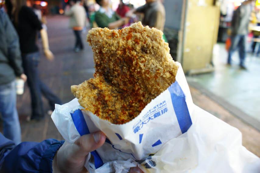 豪大大鶏排 フライドチキン