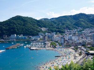熱海の美しい町並み