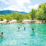 タイにもあります天然温泉!クラビの「エメラルドプール」でリラックス♪