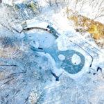 まるで北欧!?天然のスケート場が楽しめる長野県・軽井沢の「ケラ池スケートリンク」
