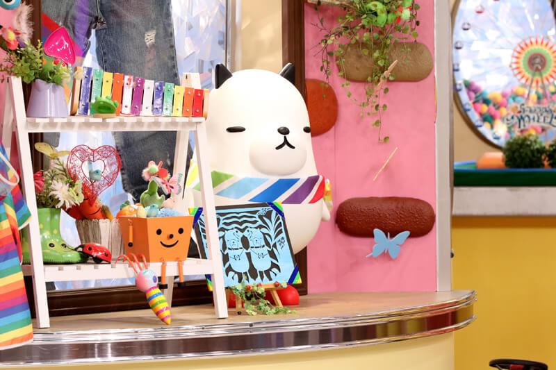 番組キャラクターのジーンちゃん ©関西テレビ