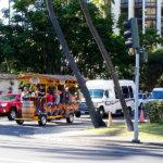ハワイの名所をワイワイ巡る!15人乗り自転車「パラダイスペダル」に乗ってみよう