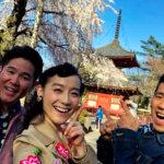 篠原ともえがパワースポット埼玉県・川越の喜多院へ!見ごろを迎えた桜の絶景を生中継も!