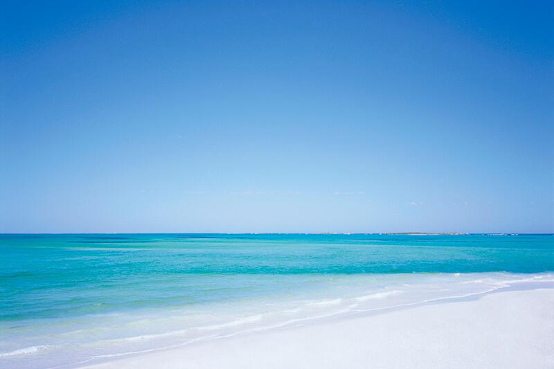 パース・白いビーチ