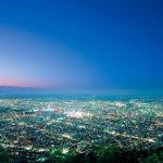 日本新三大夜景の一つ!札幌から約20分で行けちゃう「藻岩(もいわ)山」をご紹介