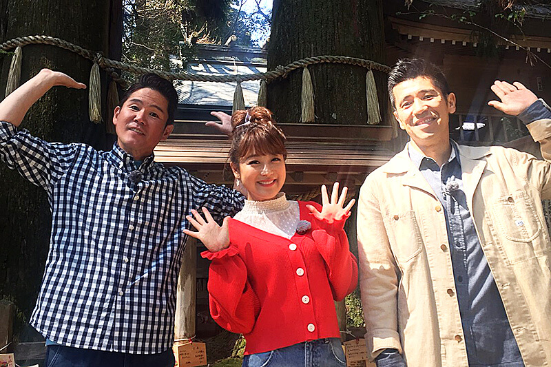 鈴木奈々と宮崎県の高千穂へ!パワースポットでご利益を授かっちゃいます!
