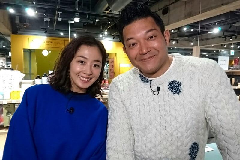 優香とお掃除グッズをお買い物!山口智充、優香 ©関西テレビ
