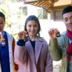 橋本マナミが熱海の伊豆山神社へ!駿河湾を望む絶景カフェで極上チーズタルトも