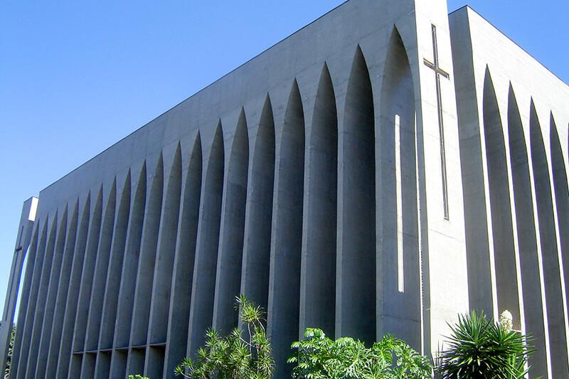 ドンボスコ教会外観