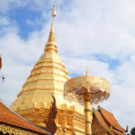 チェンマイに来たなら訪れるべきお寺!金色に輝く「ドイ・ステープ寺院」に行ってみて