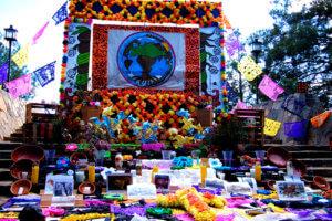 死者の日の可愛い祭壇