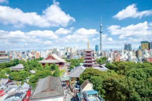 東京・日本らしい風景