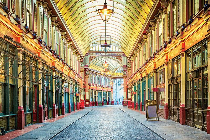 ロンドン観光におすすめ!美しく歴史深い「レドン・ホール・マーケット」に行ってみよう!