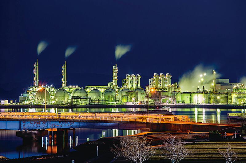 姫路の工場夜景