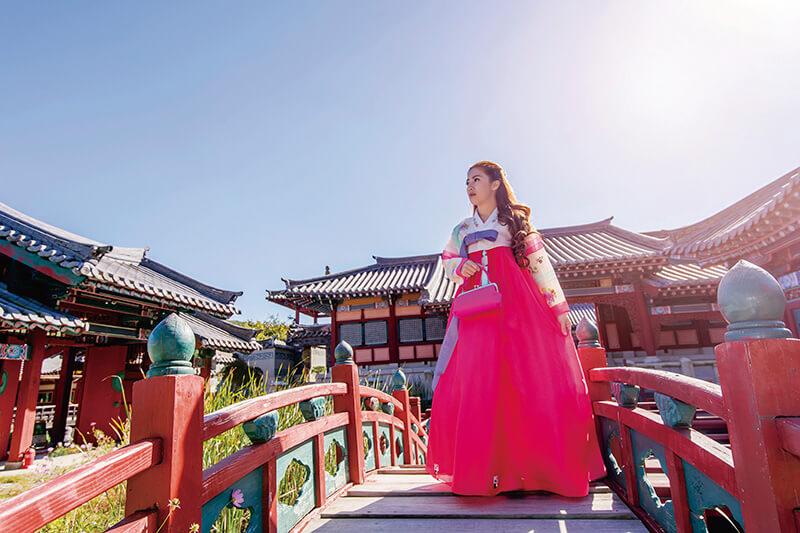 ソウル 景福宮 女性 チマチョゴリ