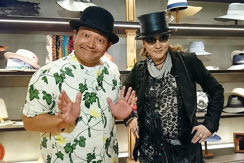 人気帽子店&老舗喫茶店へ!山口智充、石井竜也 ©関西テレビ