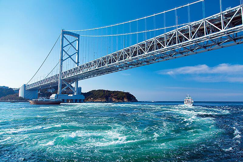「鳴門の渦潮」は絶対見たい!徳島県鳴門市のおすすめ観光スポットはどこ?