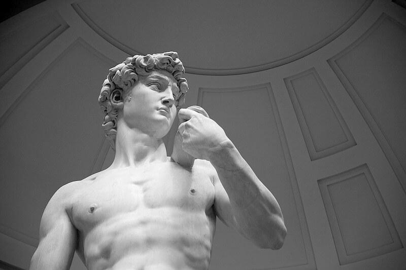 アカデミア美術館のダビデ像