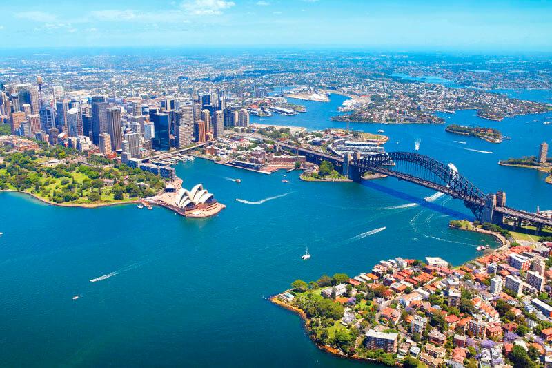 オーストラリアの大都市シドニーを満喫♪一日中楽しめるモデルルートご紹介!