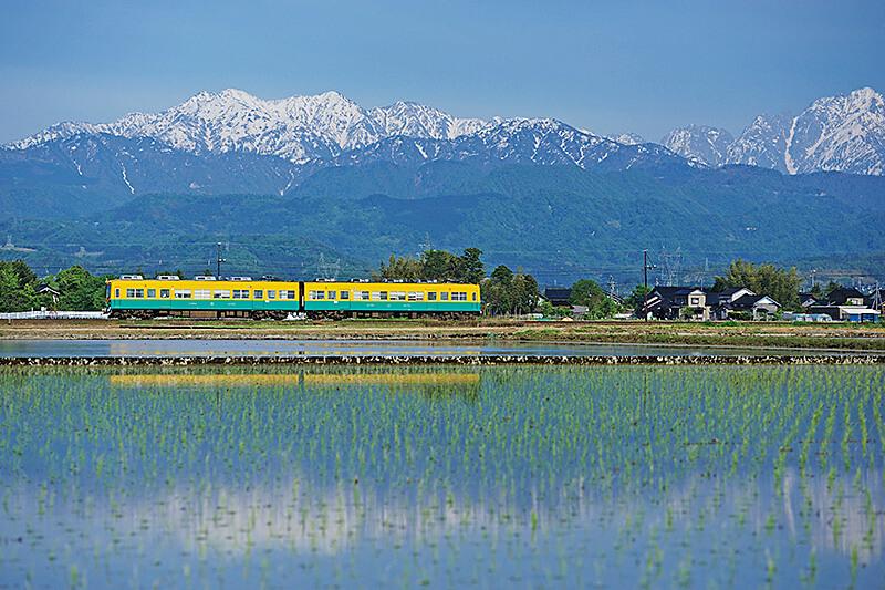 富山の大自然を満喫できる観光列車「アルプスエキスプレス」に乗ってみよう!