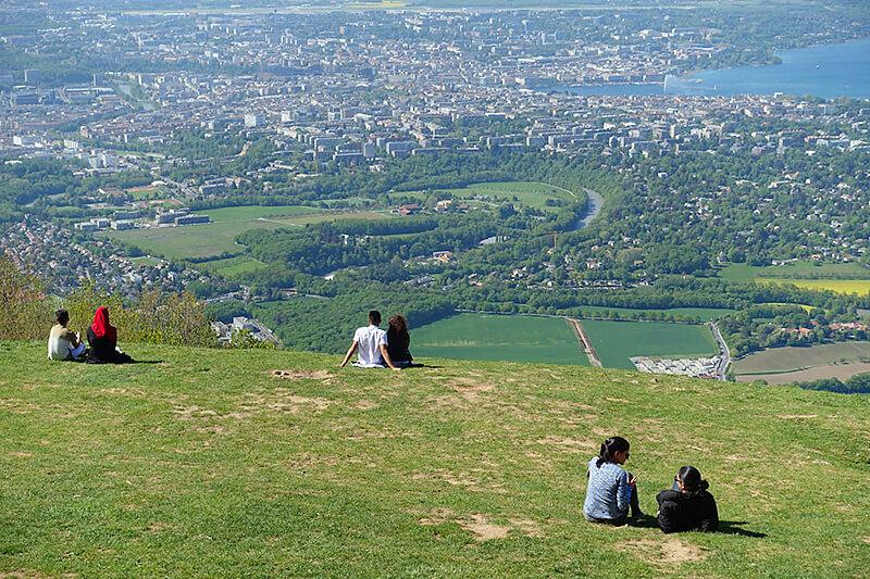 サレーブ山からの景色