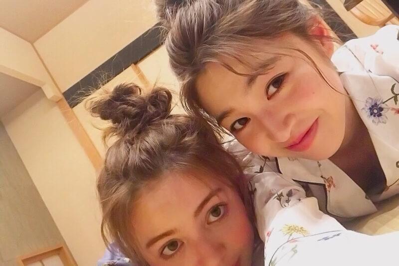 上西星来と加藤ナナが広島県の尾道、鞆の浦へ!就寝前にはパジャマ姿も披露。
