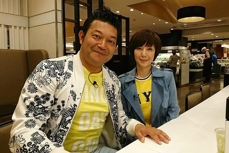 山口智充、戸田恵子 ©関西テレビ