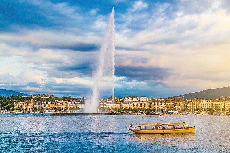 レマン湖畔にモンブラン♪「スイス・ジュネーブ」の魅力をご紹介