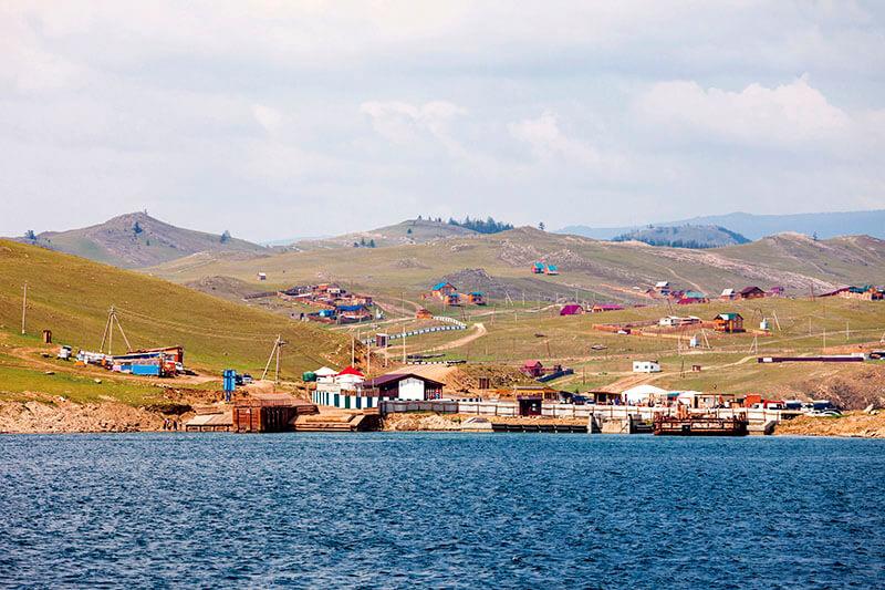 バイカル湖岸