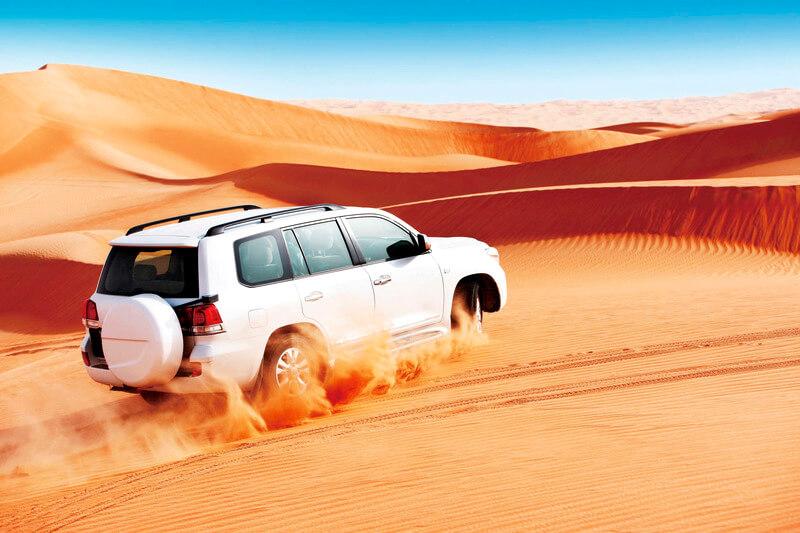 アブダビ砂漠4WD