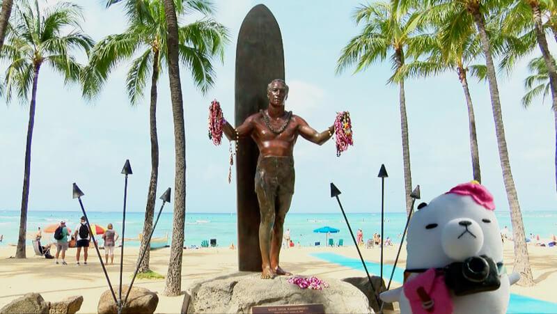 ハワイ・オアフ島 ©関西テレビ